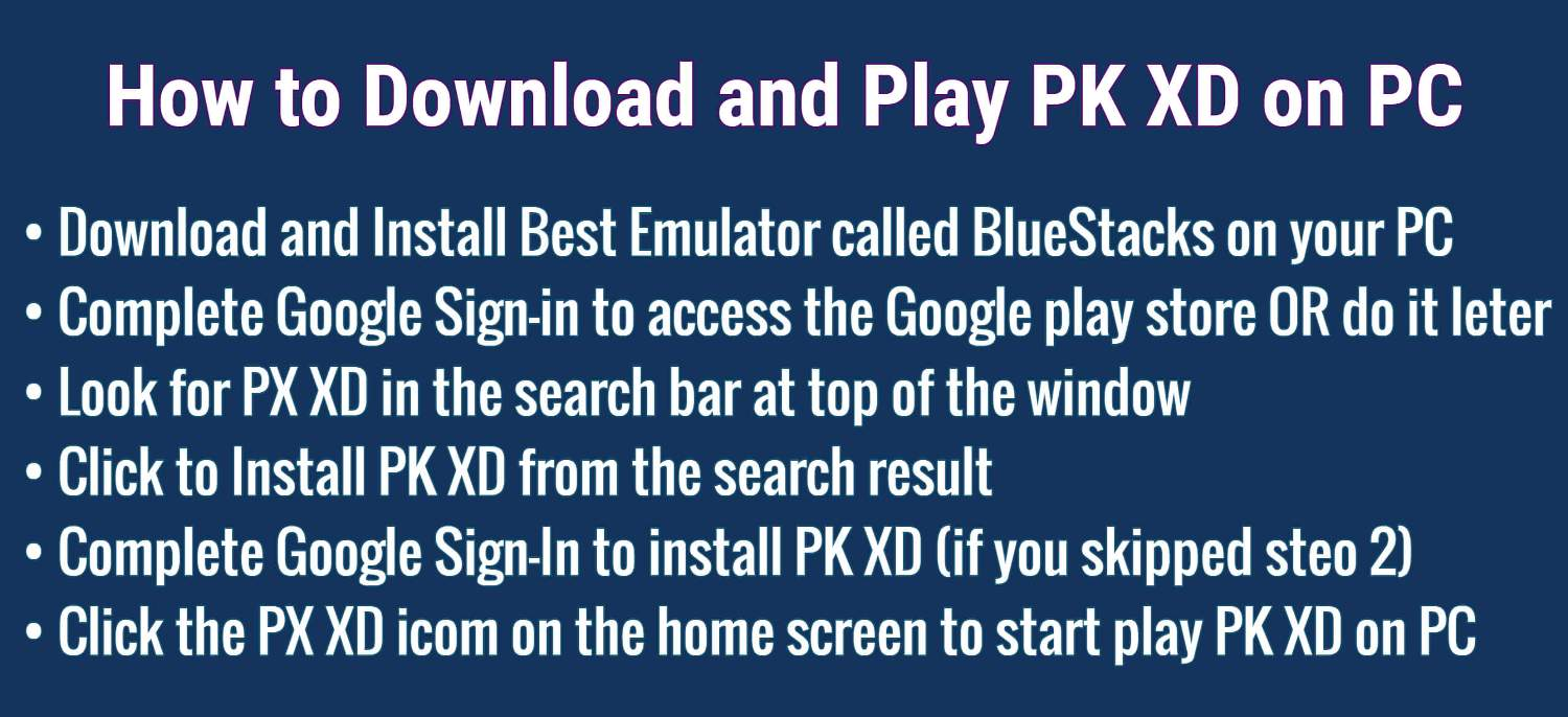 How to Download and Play PK XD on PC